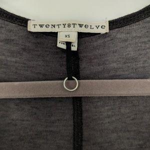 Twenty8Twelve Tops - Twenty8Twelve Gray Tank with Snaps